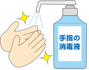 手指消毒剤
