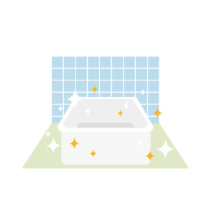 カビガードでお風呂キレイ